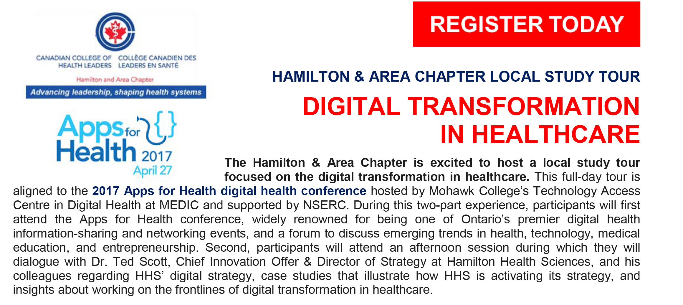 Cchl Ccls The Canadian College Of Health Leaders Hamilton And